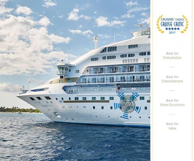 Βράβευση της Celestyal Cruises για υψηλή ποιότητα εμπειριών στους επιβάτες