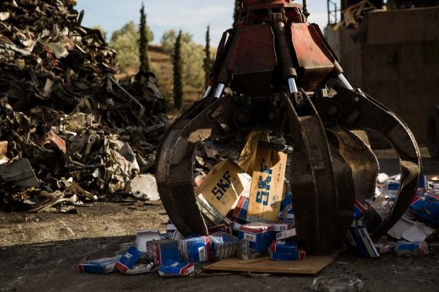 Απομιμητικά προϊόντα της SKF κατασχέθηκαν και καταστράφηκαν