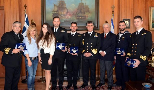 Πολεμικό Ναυτικό: Επιβράβευση Αριστείας και Εξαιρέτων Πράξεων