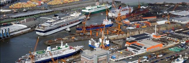 Μειώσεις προσωπικού στα γερμανικά ναυπηγεία Lloyd Werft και Werft Blohm+Voss