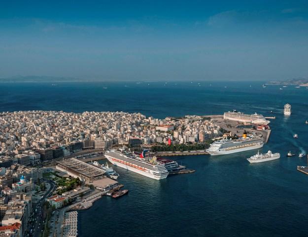 Μειωμένες οι προσεγγίσεις κρουαζιερόπλοιων στον Πειραιά για το 2017