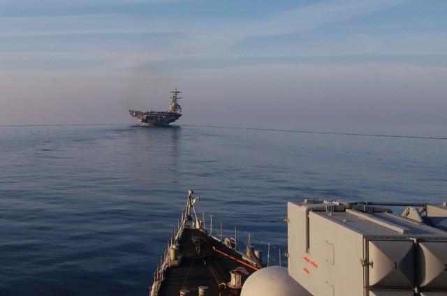 Συνεκπαίδευση του ΠΝ με μονάδες του Ναυτικού των ΗΠΑ