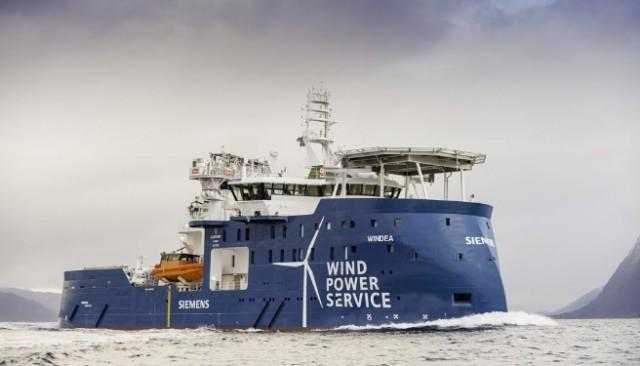 Ένα πρωτοποριακό σκάφος για τις ανάγκες θαλάσσιων αιολικών πάρκων