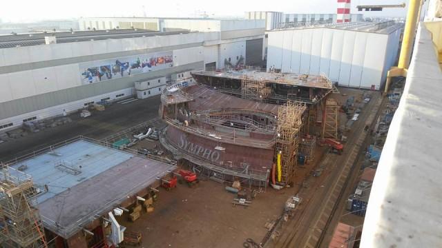 Εν αναμονή του μεγαλύτερου κρουαζιερόπλοιου του κόσμου