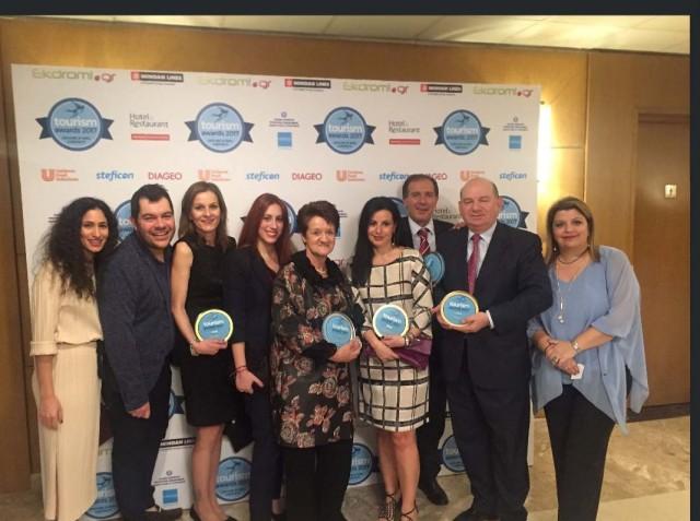 Celestyal Cruises και Μινωικές Γραμμές βραβεύτηκαν στα Tourism Awards 2017