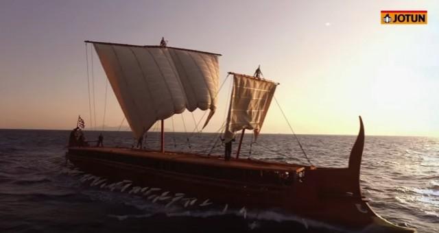 Η Jotun Hellas αναδεικνύει τη μοναδικότητα και τη σημασία της τριήρους «Ολυμπιάς» (βίντεο)