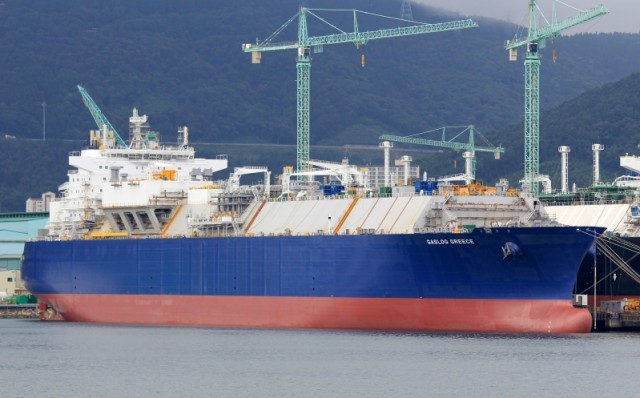 Η GasLog Partners αγοράζει το δεξαμενόπλοιο GasLog Greece