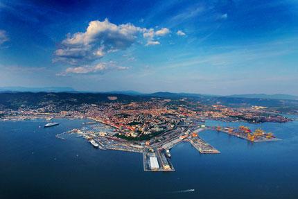 H Τεργέστη γέφυρα μεταφορών μεταξύ Τουρκίας και Ευρώπης