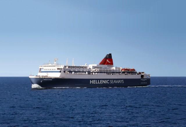 Η Hellenic Seaways, εγκαινιάζει τη νέα της γραμμή στις Κυκλάδες με το «Νήσος Σάμος»