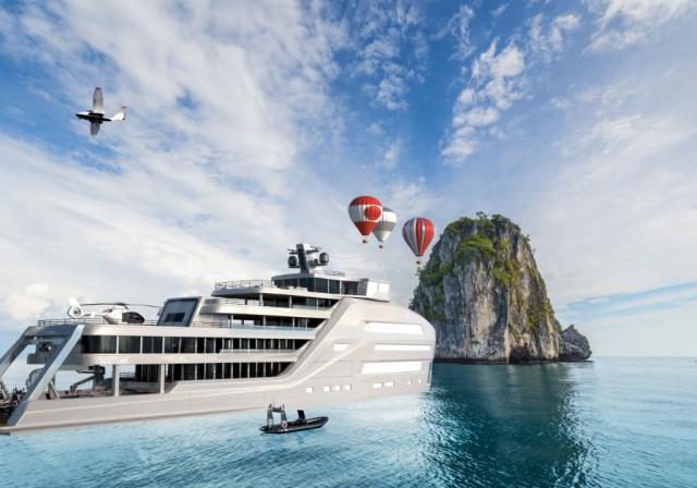 Ένα νέο superyacht ιδανικό για πλόες εξερεύνησης (φωτογραφίες)