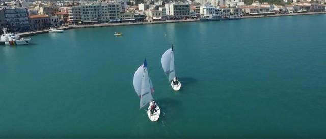 Βίντεο: ιστιοπλοϊκός αγώνας Chios match race 2017