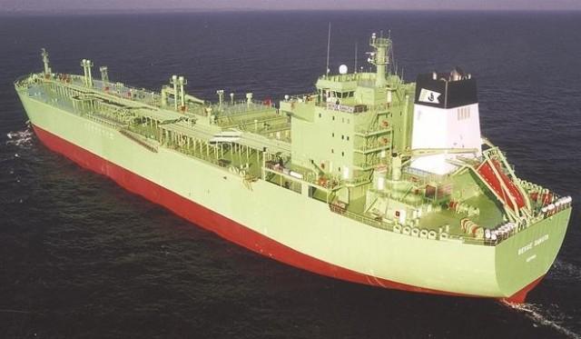Tα αποτελέσματα του κοινού προγράμματος ενός νέου σχεδιασμού πλοίου μεταφοράς LPG