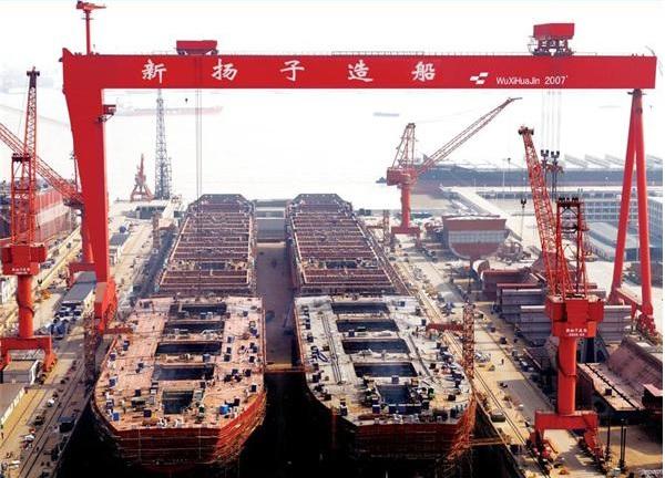Την ανάκαμψη θέτει ως στόχο ο κινεζικός όμιλος ναυπηγείων Yangzijiang