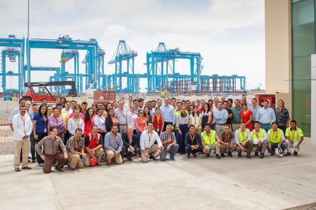 Εγκαινιάστηκε ο πιο προηγμένος τεχνολογικά τερματικός σταθμός εμπορευματοκιβωτίων της Λατινικής Αμερικής