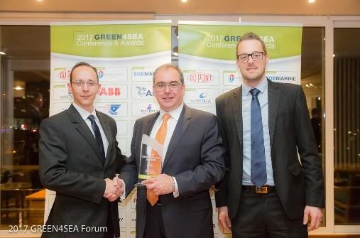 Η ABB βραβεύτηκε με το GREEN4SEA Technology Award