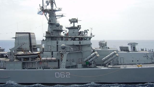 Συνεκπαίδευση της φρεγάτας Φ/Γ ΚΑΝΑΡΗΣ με πλοία του Ναυτικού της Ινδίας