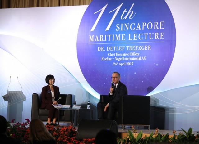 Η καρδιά της ναυτιλίας της Ν.Α. Ασίας χτυπά στη Σιγκαπούρη