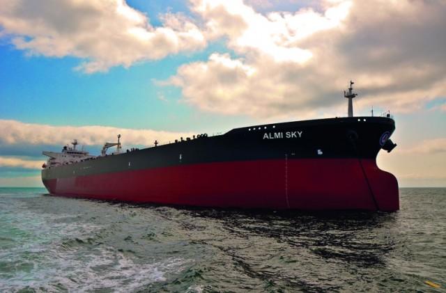H EMICERT ολοκλήρωσε την αξιολόγηση του σχεδίου παρακολούθησης για το Μ/Τ Almi Sky της Almi Tankers