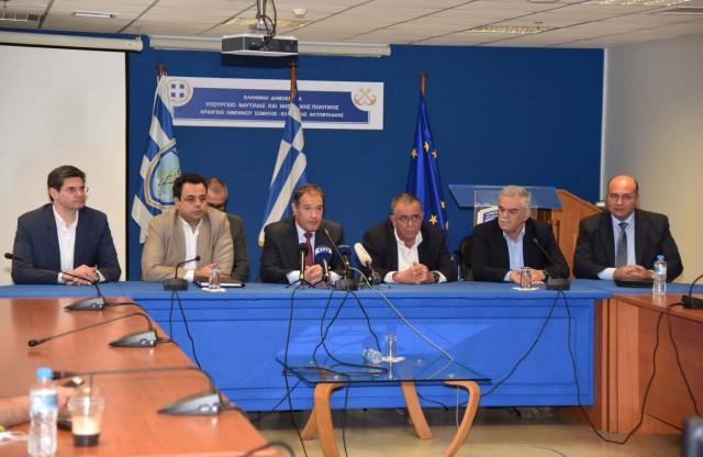 Επίσκεψη του Εκτελεστικού Διευθυντή της FRONTEX στο ΥΝΑΝΠ