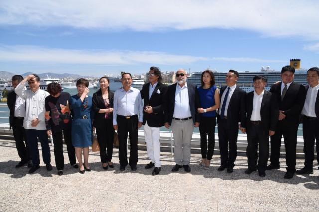 Ναυτιλία και Τέχνη ενισχύουν τις σχέσεις Ελλάδας Κίνας