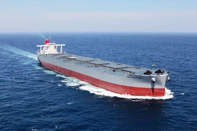 Η K Line παραλαμβάνει πλοίο 250.000 DWT