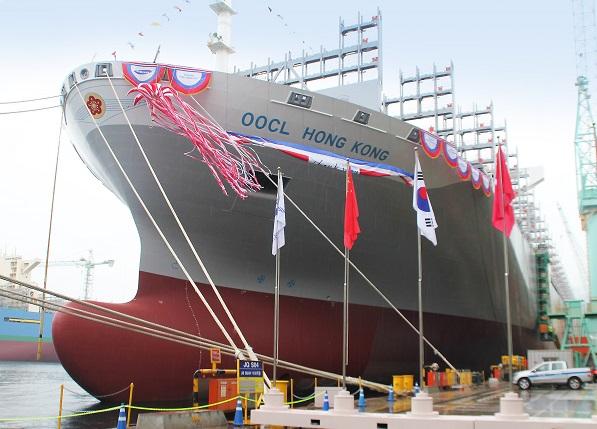 Η OOCL παραλαμβάνει containership των 21.413 TEUs