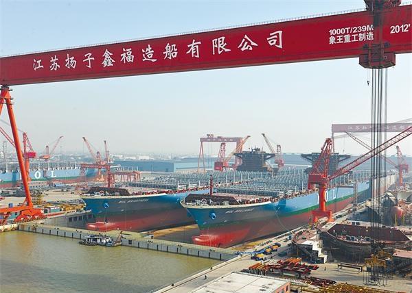 Η Κίνα αναδιαρθρώνει τα ναυπηγεία της