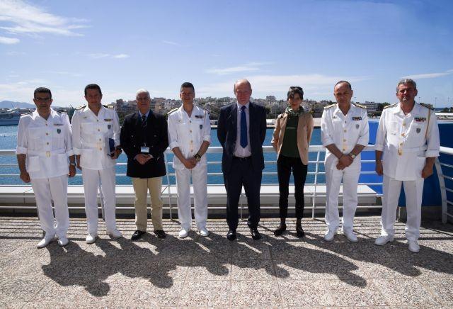 Επίσκεψη του Γενικού Διευθυντή της Υπηρεσίας Συνόρων της Βρετανίας στο Αρχηγείο του Λ.Σ.- ΕΛ.ΑΚΤ.