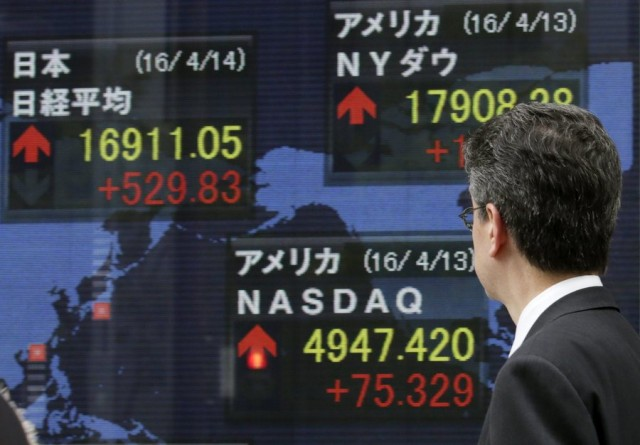 Ειδήσεις από τις διεθνείς χρηματαγορές