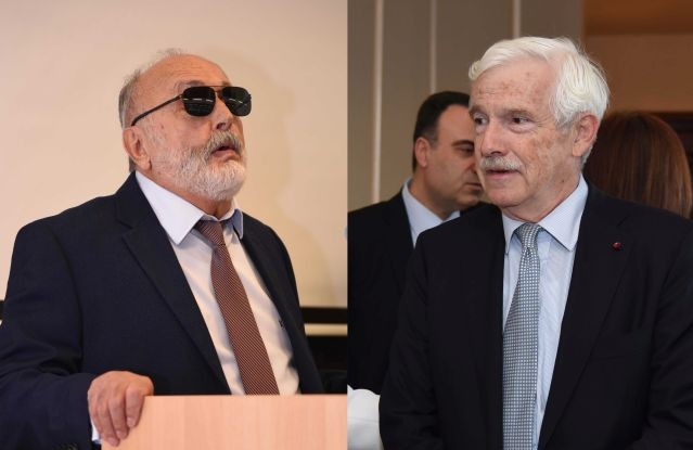 Συνάντηση του Υπουργού Ναυτιλίας Παναγιώτη Κουρουμπλή με τον Πάνο Λασκαρίδη