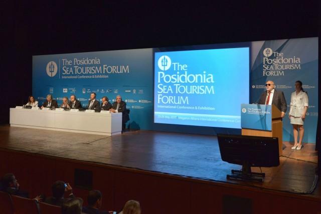 4ο Posidonia Sea Tourism Forum: Πρόσκληση συνεργασίας προς τον κλάδο της κρουαζιέρας από τον Έλληνα Yπουργό Ναυτιλίας