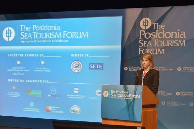 Τα επενδυτικά σχέδια του ΟΛΠ για την κρουαζιέρα στο 4ο Posidonia Sea Tourism Forum