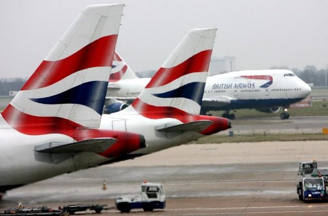 Aκυρώνονται όλες οι πτήσεις από Χίθροου και Γκάτγουικ της British Airways