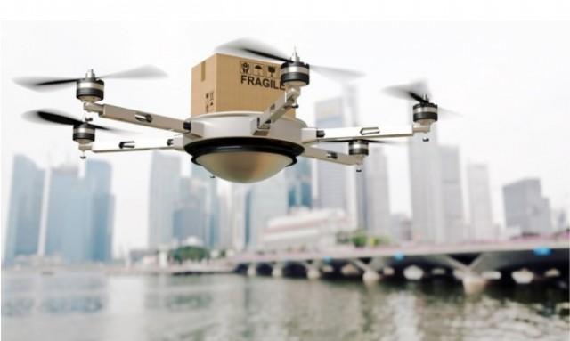 H WSS σχεδιάζει παραδόσεις σε πλοία με τη χρήση drones