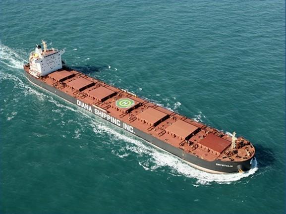 Παραλαβή νέου πλοίου για την Diana Shipping