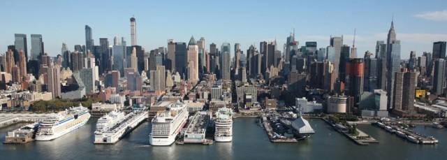 Παραχώρηση τερματικών σταθμών κρουαζιέρας στη Νέα Υόρκη