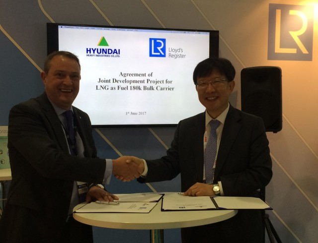 Ο Lloyd's Register συνεργάζεται με την HHI για τη ναυπήγηση πλοίων τελευταίας γενιάς