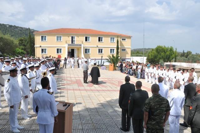 Τελετή Απονομής Πτυχίων των Αποφοίτων του 185ου Σχολείου Υποβρύχιων Καταστροφών