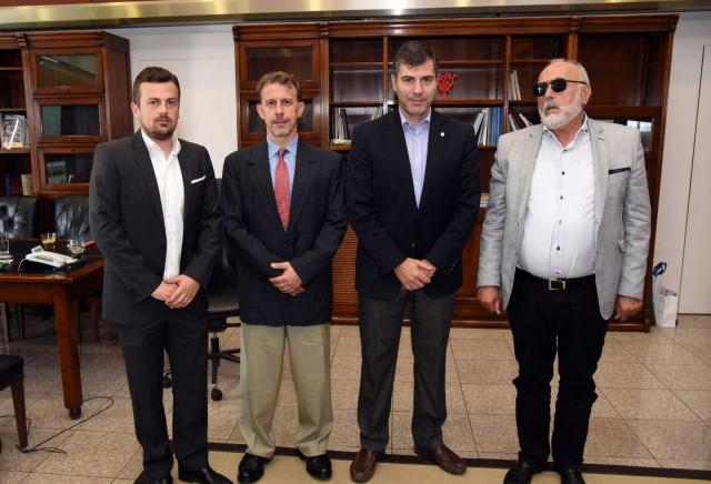 Συνάντηση του ΥΝΑΝΠ με το προεδρείο του Συνδέσμου Μεσιτών Ναυτιλιακών Συμβάσεων