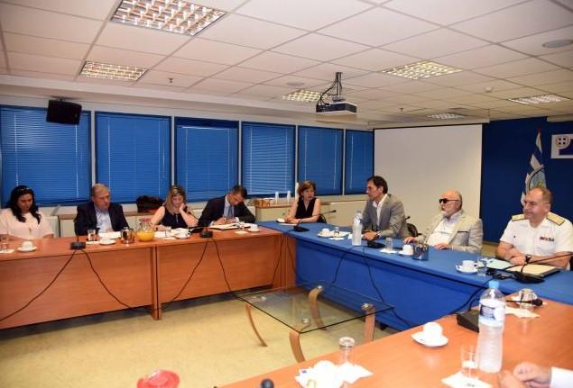 Συνάντηση του ΥΝΑΝΠ με εκπροσώπους των P&I Clubs