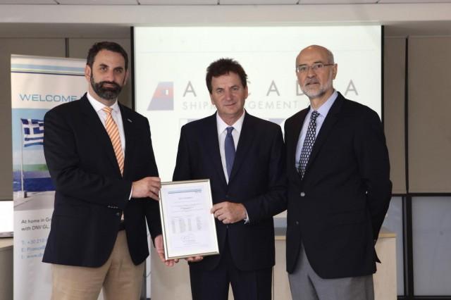 Ο DNV GL πιστοποιεί την Arcadia Shipmanagement για τον κανονισμό MRV της ΕΕ