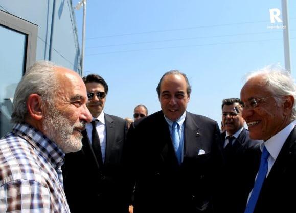Πήτερ Λιβανός και Δημήτρης Κοπελούζος στον Οργανισμό Λιμένος Αλεξανδρούπολης