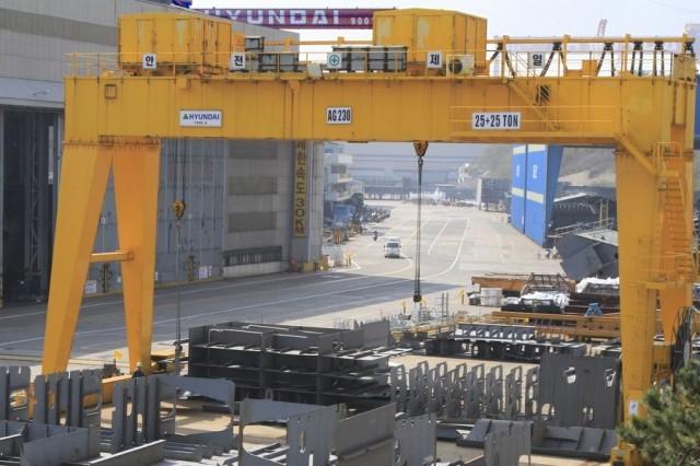 Παραγγελίες αξίας $9,37 δις για τα κορεάτικα ναυπηγεία