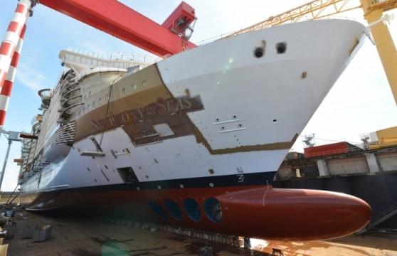 Εν αναμονή του μεγαλύτερου κρουαζιερόπλοιου στον κόσμο
