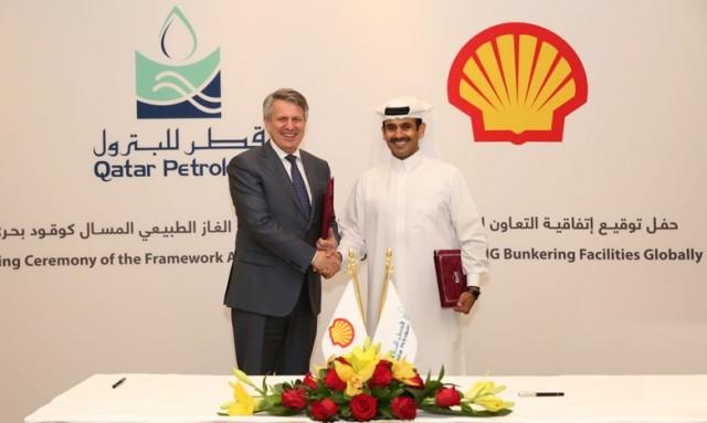 Στρατηγική συμφωνία μεταξύ Shell και Qatar Petroleum