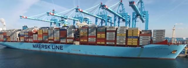 Το λιμάνι του Ρότερνταμ υποδέχεται το «Madrid Maersk»