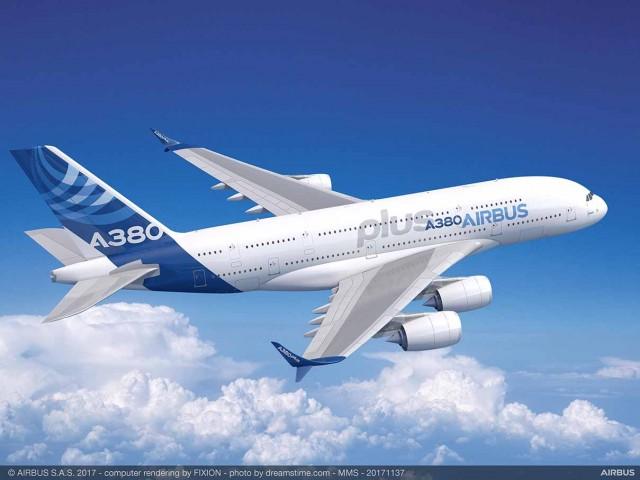 Η Airbus παρουσιάζει το A380plus