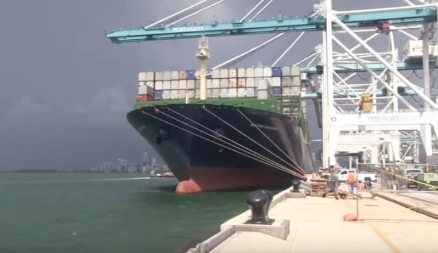 Το «M/V Maersk Shanghai» σπάει το ρεκόρ στο λιμάνι του Μαϊάμι