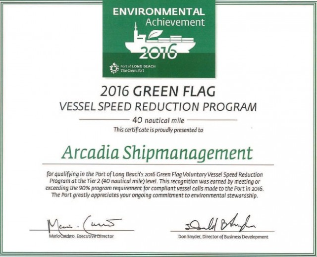 Green Environmental Award