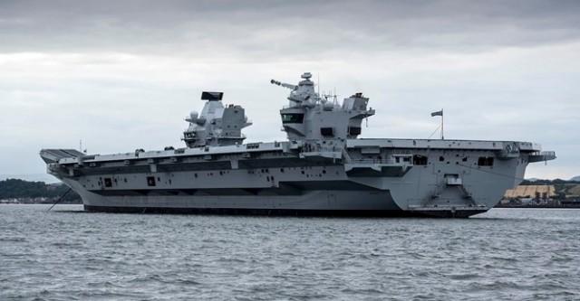 Το μεγαλύτερο αεροπλανοφόρο του Βρετανικού Πολεμικού Ναυτικού είναι γεγονός